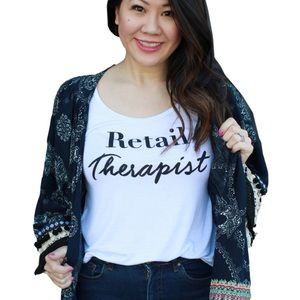 """Retail Therapist"" Cute T-Shirt - Price is Firm -"